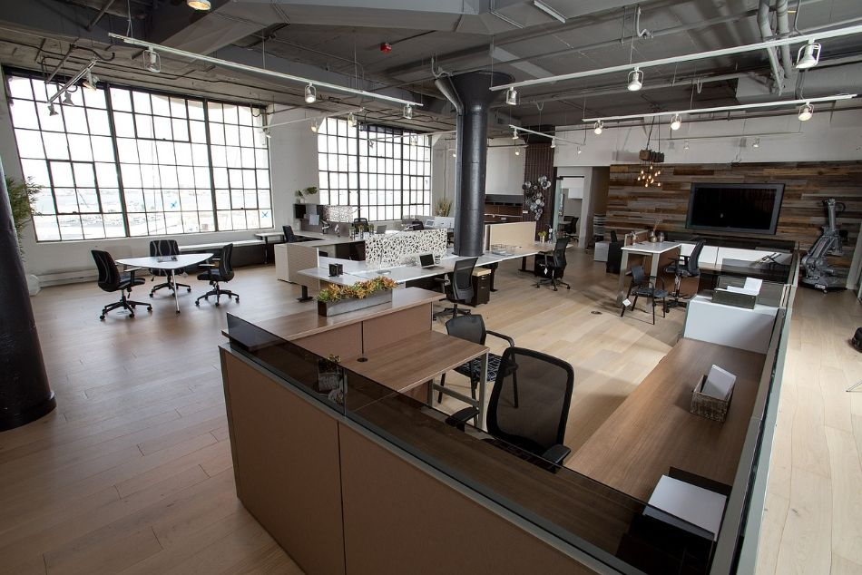 small office fitout completed in Carlton, Melbourne